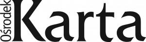 Osrodek KARTA_New_Logo_BLACK