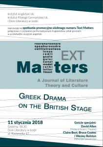 plakat Text Matters