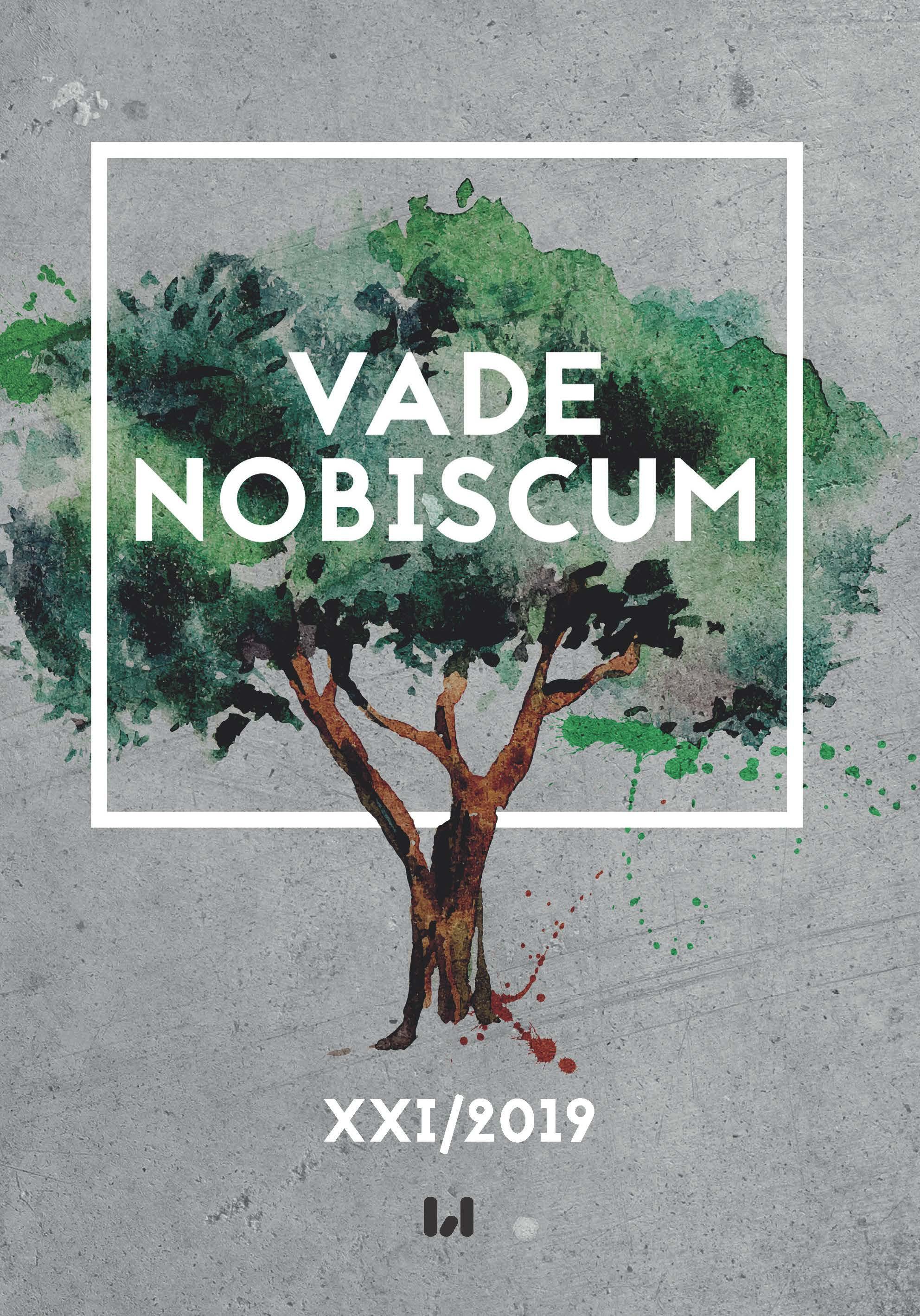 Vade Nobiscum, tom XXI2019 | Wydawnictwo UŁ