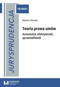 Jurysprudencja-15-Osmola-Teoria prawa